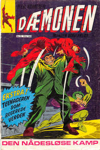 Cover Thumbnail for Dæmonen (Interpresse, 1967 series) #32