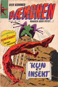 Cover Thumbnail for Dæmonen (Interpresse, 1967 series) #33