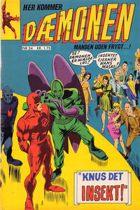 Cover Thumbnail for Dæmonen (Interpresse, 1967 series) #34