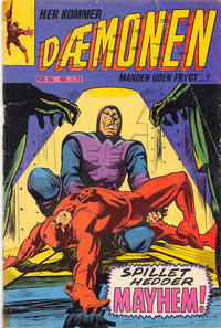 Cover Thumbnail for Dæmonen (Interpresse, 1967 series) #36