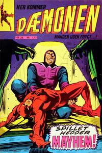 Cover Thumbnail for Dæmonen (Interpresse, 1967 series) #36