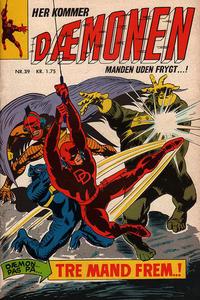 Cover Thumbnail for Dæmonen (Interpresse, 1967 series) #39