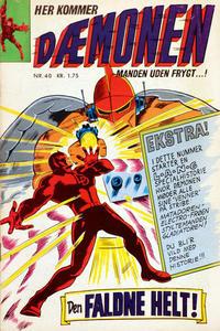 Cover Thumbnail for Dæmonen (Interpresse, 1967 series) #40