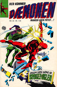 Cover Thumbnail for Dæmonen (Interpresse, 1967 series) #42