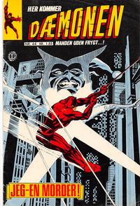 Cover Thumbnail for Dæmonen (Interpresse, 1967 series) #44