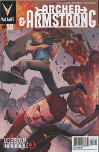 Cover Thumbnail for Archer and Armstrong (Valiant Entertainment, 2012 series) #18 [Cover B - Jorge Molina]