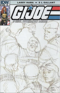 Cover Thumbnail for G.I. Joe: A Real American Hero (IDW, 2010 series) #198 [Retailer Incentive Cover]