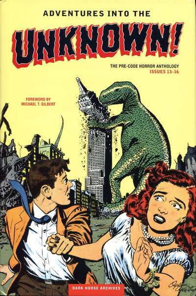 Cover for Adventures into the Unknown Archives (Dark Horse, 2012 series) #4