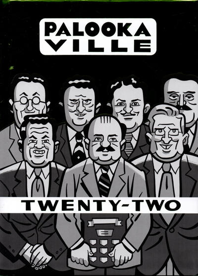 Cover for Palooka-Ville (Drawn & Quarterly, 1991 series) #22
