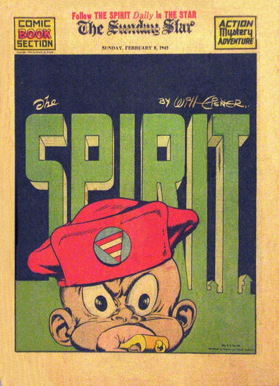 Cover for The Spirit (Register and Tribune Syndicate, 1940 series) #2/8/1942