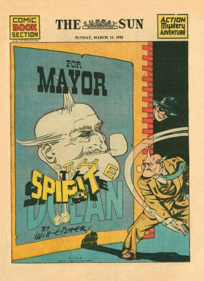 Cover for The Spirit (Register and Tribune Syndicate, 1940 series) #3/15/1942