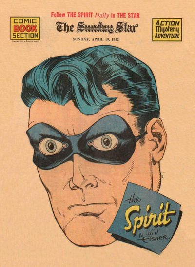 Cover for The Spirit (Register and Tribune Syndicate, 1940 series) #4/19/1942