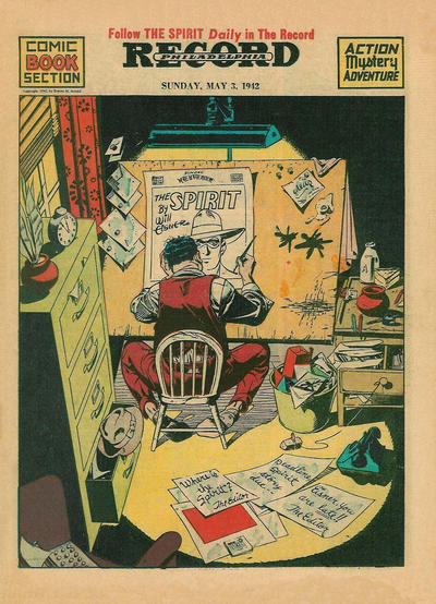 Cover for The Spirit (Register and Tribune Syndicate, 1940 series) #5/3/1942