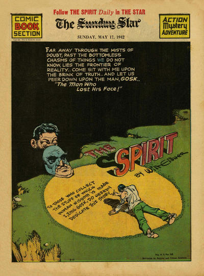 Cover for The Spirit (Register and Tribune Syndicate, 1940 series) #5/17/1942