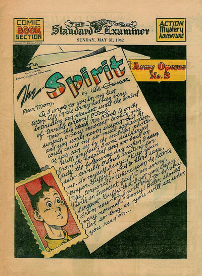 Cover for The Spirit (Register and Tribune Syndicate, 1940 series) #5/31/1942