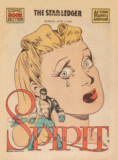 Cover for The Spirit (Register and Tribune Syndicate, 1940 series) #6/7/1942