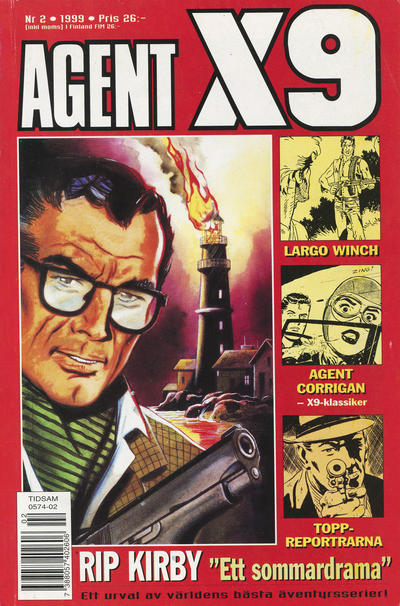 Cover for Agent X9 (Egmont, 1997 series) #2/1999