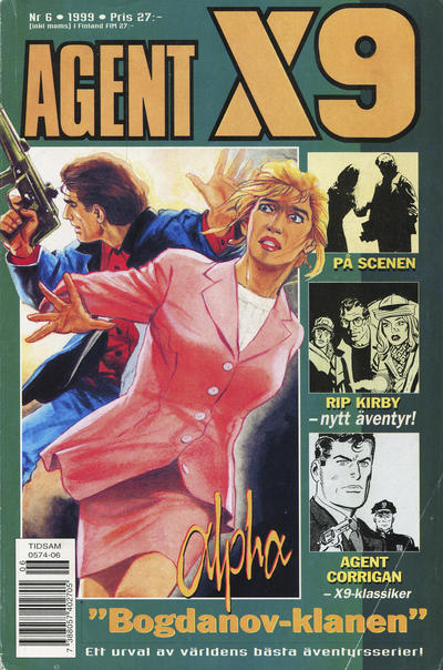 Cover for Agent X9 (Egmont, 1997 series) #6/1999