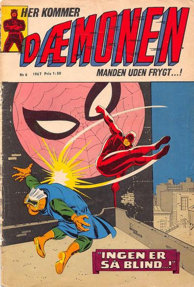 Cover for Dæmonen (Interpresse, 1967 series) #6
