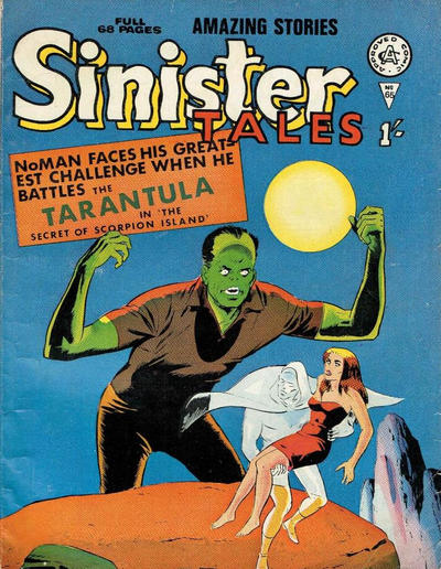 Cover for Sinister Tales (Alan Class, 1964 series) #65