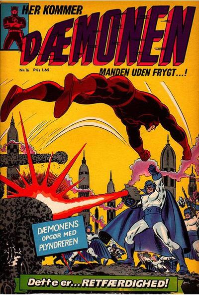 Cover for Dæmonen (Interpresse, 1967 series) #16