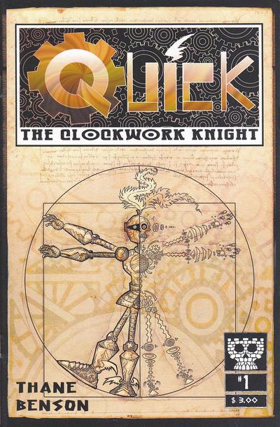 Cover for Quick, the Clockwork Knight (Dead Brick Press, 2013 series) #1