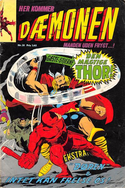 Cover for Dæmonen (Interpresse, 1967 series) #30