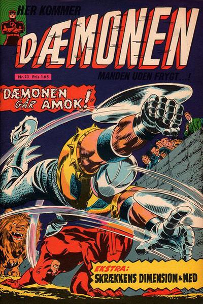 Cover for Dæmonen (Interpresse, 1967 series) #23