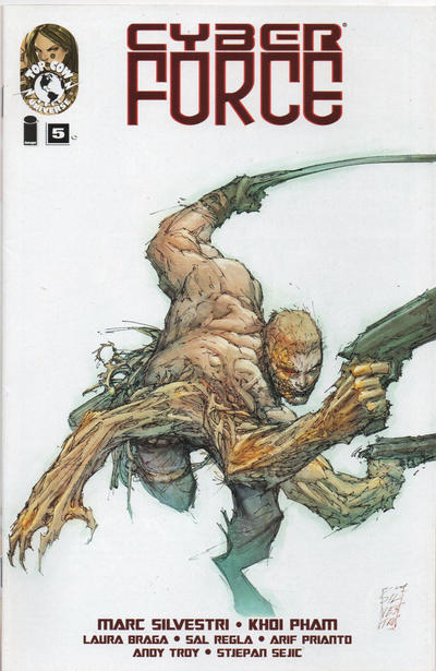 Cover for Cyber Force (Image, 2012 series) #5 [Cover A]