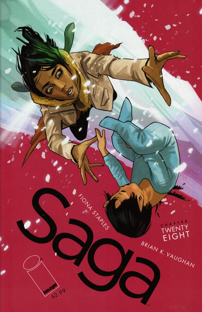 Cover for Saga (Image, 2012 series) #28