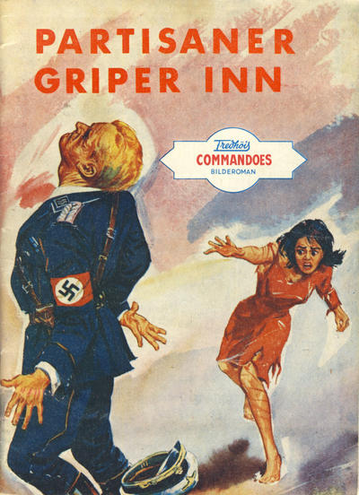 Cover for Commandoes (Fredhøis forlag, 1973 series) #66