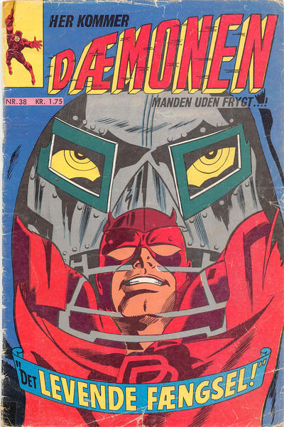 Cover for Dæmonen (Interpresse, 1967 series) #38