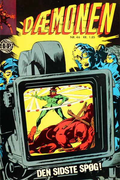 Cover for Dæmonen (Interpresse, 1967 series) #46