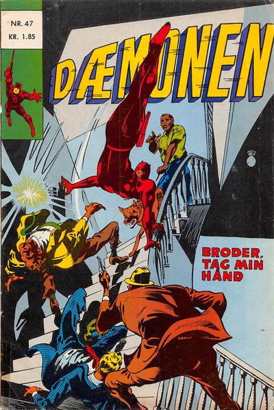 Cover for Dæmonen (Interpresse, 1967 series) #47