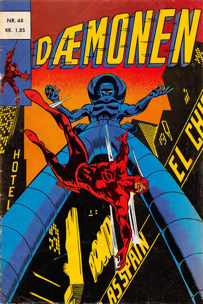 Cover for Dæmonen (Interpresse, 1967 series) #48