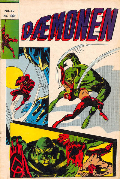 Cover for Dæmonen (Interpresse, 1967 series) #49