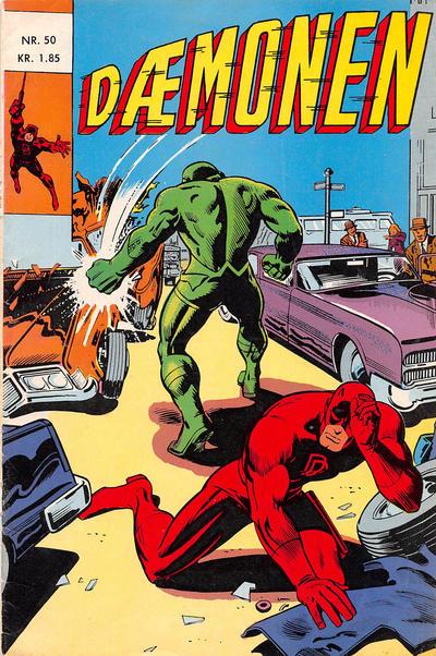 Cover for Dæmonen (Interpresse, 1967 series) #50