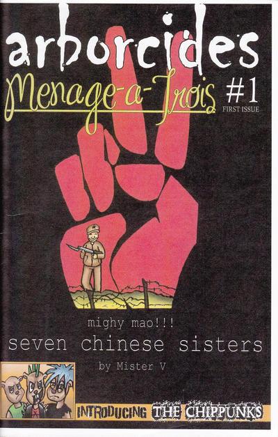Cover for Arborcides Menage-A-Trois (Arborcides Press, 2013 series) #1