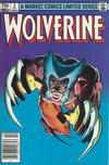 Cover for Wolverine (Marvel, 1982 series) #2 [75¢]