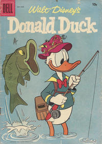 Cover Thumbnail for Donald Duck (Dell, 1952 series) #54 [15¢]