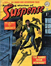 Cover Thumbnail for Amazing Stories of Suspense (Alan Class, 1963 series) #5
