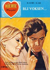 Cover Thumbnail for Hjerterevyen (Serieforlaget / Se-Bladene / Stabenfeldt, 1960 series) #23/1981
