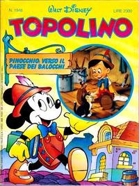 Cover Thumbnail for Topolino (The Walt Disney Company Italia, 1988 series) #1948