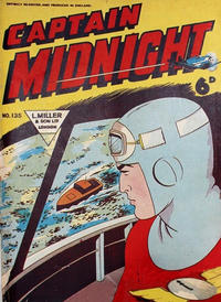 Cover Thumbnail for Captain Midnight (L. Miller & Son, 1950 series) #135