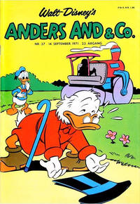 Cover Thumbnail for Anders And & Co. (Egmont, 1949 series) #37/1971