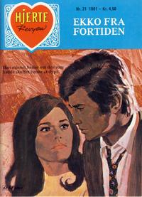 Cover Thumbnail for Hjerterevyen (Serieforlaget / Se-Bladene / Stabenfeldt, 1960 series) #21/1981