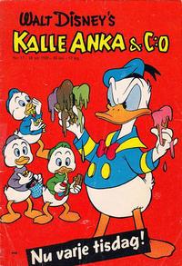 Cover Thumbnail for Kalle Anka & C:o (Hemmets Journal, 1957 series) #17/1959