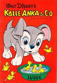 Cover Thumbnail for Kalle Anka & C:o (Hemmets Journal, 1957 series) #20/1959