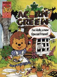 Cover Thumbnail for Acorn Green (Marvel UK, 1986 series) #16