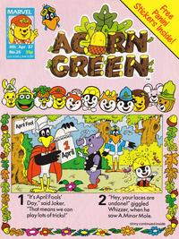 Cover Thumbnail for Acorn Green (Marvel UK, 1986 series) #26